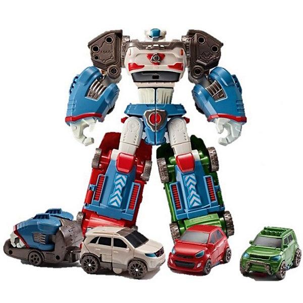 Робот-трансформер Yuong toys Мини-Тобот, ДельтатронТрансформеры-игрушки<br>Характеристики:<br><br>• Вес в упаковке: 0,9кг.;<br>• Материал: пластик;<br>• Упоковка: картон;<br>• размер упаковки: 21х11х28см.;<br>• для детей в возрасте: от 4 лет.;<br>• страна производитель: Китай.<br><br>Робот-трасформер «Мини Тобот» Дельтатрон бренда «Young tous» (Юнг тоус) прекрасный подарок для мальчишек. Это настоящий персонаж любимого мультика «Тобот» робота воина. Он создан из высококачественных, экологически чистых материалов, что очень важно для детских товаров.<br><br>Киберг очень просто собирается из четырех машинок с помощью ключа, прилагающегося в комплекте. Все детали надёжно соединяются друг с другом, поэтому трансформировать его можно много раз. Машинки имеют оптимальные размеры, и широкие  подвижные колёса играть ими можно отдельно. В наборе с роботом имеются наклейки, четыре карточки и аксессуары.<br><br>Играя в конструктор дети смогут развивать фантазию, внимательность, логическое и пространственное мышление, моторику рук, усидчивость, терпение, просто весело и с пользой проведут время.<br><br>Робот-трасформер «Мини Тобот» Дельтатрон бренда «Young tous» (Юнг тоус), можно купить в нашем интернет-магазине.<br>Ширина мм: 9999; Глубина мм: 9999; Высота мм: 9999; Вес г: 9999; Возраст от месяцев: 48; Возраст до месяцев: 2147483647; Пол: Мужской; Возраст: Детский; SKU: 7058480;