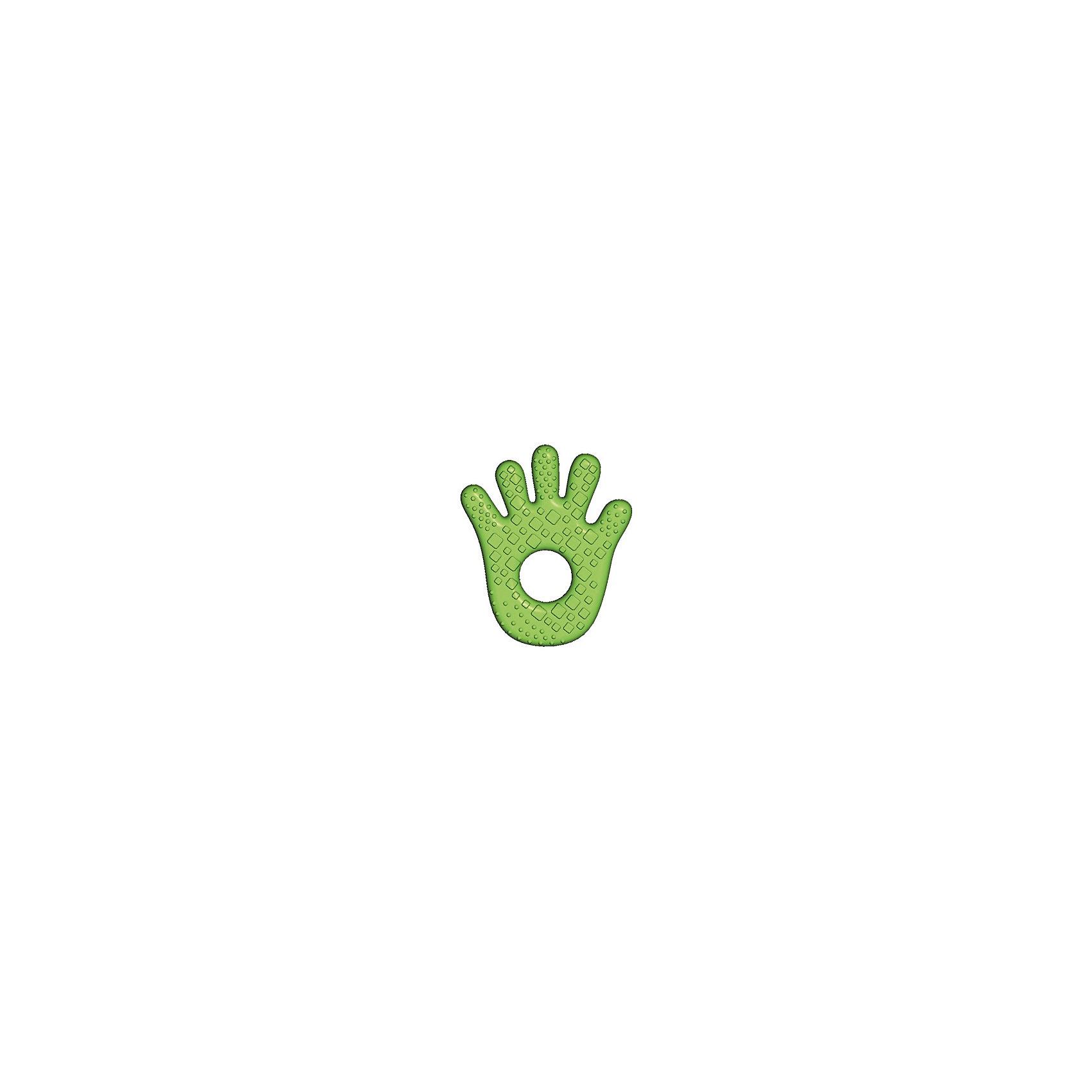 Прорезыватель Bright Starts «Ладошка»Прорезыватели<br>Прорезыватель забавной формы успокоит нежные десны малыша!<br><br>Особенности<br>Мягкий прорезыватели для зубок наполнен водой<br>Удобно держать маленькими ручками<br><br>Дополнительные характеристики<br>Размеры товара: 9 х 2 х 18 см<br>Размеры коробки: 12 х 2 х 19,5 см<br><br>Ширина мм: 9999<br>Глубина мм: 9999<br>Высота мм: 9999<br>Вес г: 9999<br>Возраст от месяцев: 0<br>Возраст до месяцев: 5<br>Пол: Унисекс<br>Возраст: Детский<br>SKU: 7064562