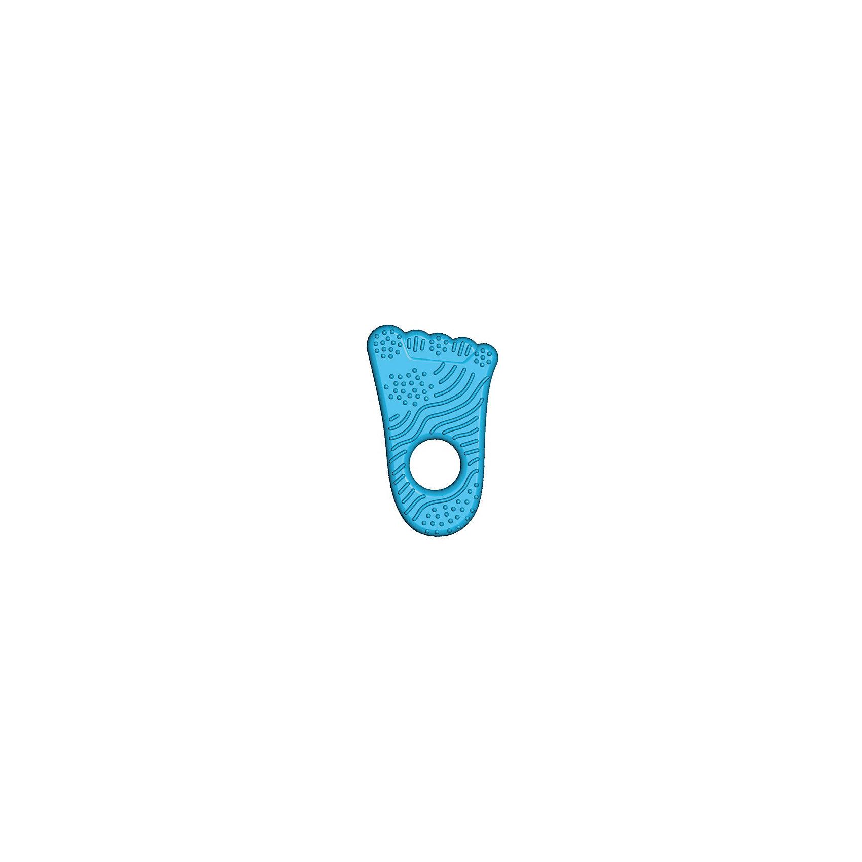 Прорезыватель Bright Starts «Пяточка»Прорезыватели<br>Прорезыватель забавной формы успокоит нежные десны малыша!<br><br>Особенности<br>Мягкий прорезыватели для зубок наполнен водой<br>Удобно держать маленькими ручками<br><br>Дополнительные характеристики<br>Размеры товара: 9 х 2 х 18 см<br>Размеры коробки: 12 х 2 х 19,5 см<br><br>Ширина мм: 9999<br>Глубина мм: 9999<br>Высота мм: 9999<br>Вес г: 9999<br>Возраст от месяцев: 0<br>Возраст до месяцев: 5<br>Пол: Унисекс<br>Возраст: Детский<br>SKU: 7064563