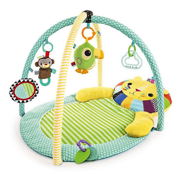 Купить Развивающий коврик Bright Starts Львёнок (звук), Китай, Унисекс