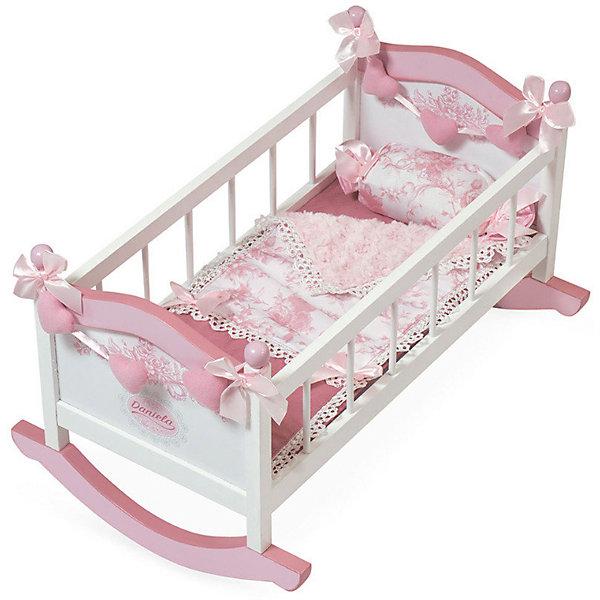 Кроватка -качалка для куклы DeCuevas