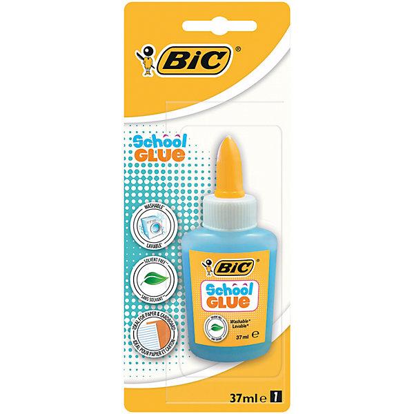 Клей Bic, 37 млШкольные аксессуары<br>Характеристики:<br><br>• возраст: от 5 лет<br>• объем: 37 мл.<br>• упаковка: блистер<br><br>Оттеночный клей с удобным аппликатором для точечного нанесения. Идеально подходит для бумаги и картона. На водной основе. Легко смывается с большинства материалов.<br><br>BIC Клей школьный 37 мл, блистер можно купить в нашем интернет-магазине.<br>Ширина мм: 25; Глубина мм: 80; Высота мм: 197; Вес г: 54; Возраст от месяцев: 60; Возраст до месяцев: 2147483647; Пол: Унисекс; Возраст: Детский; SKU: 7065339;