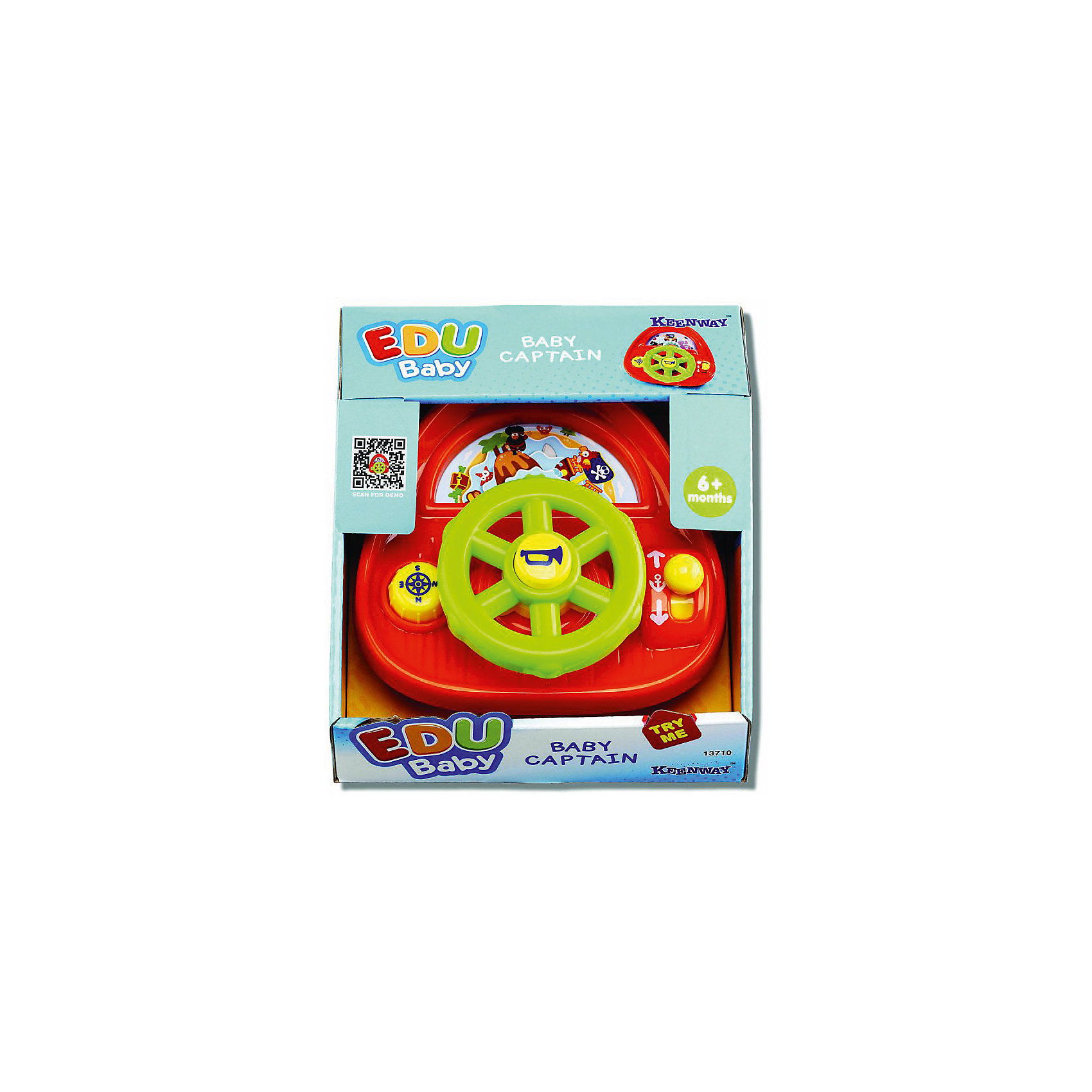 Развивающая игрушка  Keenway Маленький капитанРазвивающие игрушки<br><br><br>Ширина мм: 165<br>Глубина мм: 165<br>Высота мм: 101<br>Вес г: 2750<br>Возраст от месяцев: 0<br>Возраст до месяцев: 12<br>Пол: Мужской<br>Возраст: Детский<br>SKU: 7065783