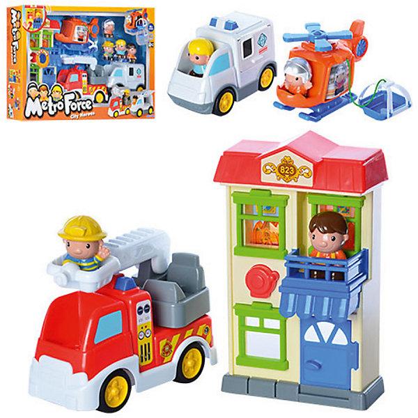 Игровой набор Keenway Спасатели 911Машинки<br>Характеристики:<br><br>• материал: пластик;<br>• вес упаковки: 2,31кг.;<br>• тип батареек: АА;<br>• размер упаковки: 62х11х40см.;<br>• размер игрушки: 26,5х16х12см.;<br>• для детей в возрасте: от 18мес.;<br>• страна производитель: Китай.<br><br>Игровой набор «Спасатели 911» «Keenway» (Кинвей) прекрасный подарок для маленьких детишек. Она создана из высококачественных, экологически чистых материалов, что очень важно для детских товаров.<br><br> С набором ребёнок может провести настоящую спасательную операцию и стать героем. Началом игры послужит сигнал призывающий к помощи, раздающийся из двухэтажного красочного домика, на балконе которого стоит фигурка человечка. За работу принимаются спасатели: пожарная машина с поднимающейся лестницей, скорая помощь с сигнальными маячками и вертолёт с подвесной люлькой для пострадавших. Набор работает от двух батареек, входящих в комплект.<br> <br><br>Играя дети развивают зрительное и цветовое восприятие, фантазию, мелкую моторику.Эта игрушка полностью безопасна для маленьких детишек.<br><br>Игровой набор «Спасатели 911» бренда» «Keenway» (Кинвей), можно купить в нашем интернет-магазине.<br>Ширина мм: 622; Глубина мм: 108; Высота мм: 394; Вес г: 2307; Возраст от месяцев: 12; Возраст до месяцев: 36; Пол: Унисекс; Возраст: Детский; SKU: 7065786;