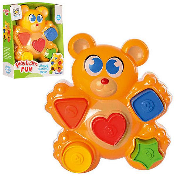 Сортер Keenway МедвежонокРазвивающие игрушки<br>Характеристики:<br><br>• Вес в упаковке: 400г.;<br>• материал: пластик;<br>• размер упаковки: 9х23х7см.;<br>• для детей в возрасте: от 1г.;<br>• страна производитель: Китай.<br><br>Развивающая игрушка-сортер «Медвежонок» бренда» «Keenway» (Кенвей) прекрасный подарок для самых маленьких детишек. Она создана из высококачественных, экологически чистых материалов, что очень важно для детских товаров.<br><br>Привлекательная<br>, яркая игрушка надолго привлечёт внимание малыша.  Сортер сделан ввиде весёлого медвежонка, в лапки которого вложены пять фигурок разного цвета.  Играть в игрушку можно вместе с малышом, что повышает его двигательную активность.<br> <br><br>Играя дети развивают зрительное и цветовое восприятие, мелкую моторику.Эта игрушка полностью безопасна для самых маленьких детишек.<br><br>Развивающая игрушка-сортер «Медвежонок» бренда» «Keenway» (Кенвей), можно купить в нашем интернет-магазине.<br><br>Ширина мм: 190<br>Глубина мм: 70<br>Высота мм: 229<br>Вес г: 360<br>Возраст от месяцев: 12<br>Возраст до месяцев: 36<br>Пол: Унисекс<br>Возраст: Детский<br>SKU: 7065791
