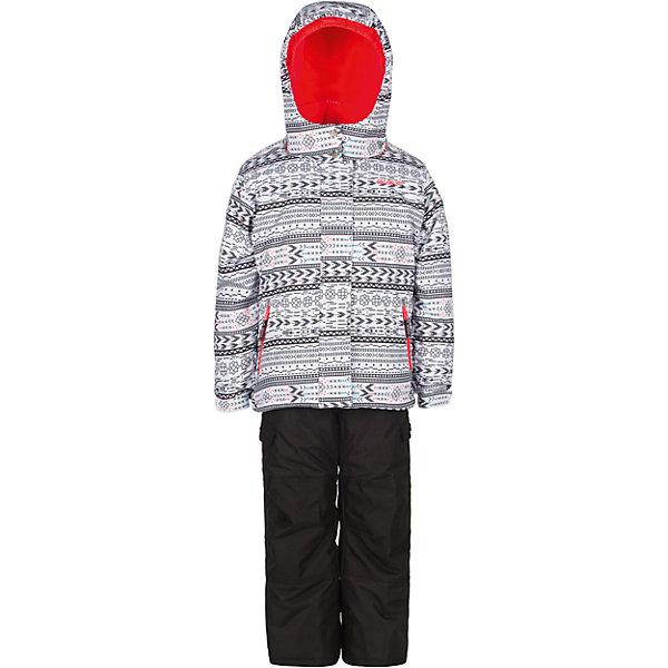 Комплект: куртка и полукомбинезон Gusti для девочкиВерхняя одежда<br>Характеристики товара:<br><br>• цвет: белый<br>• комплектация: куртка и полукомбинезон <br>• состав ткани: таслан<br>• подкладка: куртка - флис coolquick, брюки - 100% полиэстер<br>• утеплитель: тек-полифилл<br>• сезон: зима<br>• мембранное покрытие<br>• температурный режим: от -30 до +5<br>• водонепроницаемость: 5000 мм <br>• паропроницаемость: 5000 г/м2<br>• плотность утеплителя: грудь и спина 230г/м2, рукава и брюки 170г/м2<br>• застежка: молния<br>• страна бренда: Канада<br>• страна изготовитель: Китай<br><br>Стильный комплект для зимы усилен износостойкими накладками. Такой теплый комплект для девочки позволяет коже дышать. Верх детской зимней куртки и полукомбинезона не промокает и не продувается. Мягкая подкладка детского комплекта для зимы приятна на ощупь.<br><br>Комплект: куртка и полукомбинезон Gusti (Густи) для девочки можно купить в нашем интернет-магазине.<br>Ширина мм: 356; Глубина мм: 10; Высота мм: 245; Вес г: 519; Цвет: белый; Возраст от месяцев: 12; Возраст до месяцев: 18; Пол: Женский; Возраст: Детский; Размер: 89,150,158,142,134,127,123,119,112,104,100,96; SKU: 7068870;