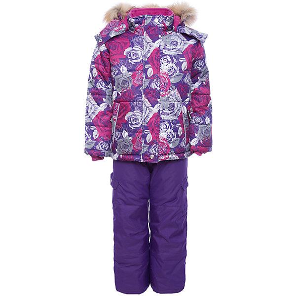 Комплект: куртка и полукомбинезон Gusti для девочкиВерхняя одежда<br>Характеристики товара:<br><br>• цвет: фиолетовый/розовый<br>• комплектация: куртка и полукомбинезон <br>• состав ткани: таслан<br>• подкладка: куртка - флис coolquick, брюки - 100% полиэстер<br>• утеплитель: тек-полифилл<br>• сезон: зима<br>• мембранное покрытие<br>• температурный режим: от -30 до +5<br>• водонепроницаемость: 5000 мм <br>• паропроницаемость: 5000 г/м2<br>• плотность утеплителя: грудь и спина 230г/м2, рукава и брюки 170г/м2<br>• застежка: молния<br>• страна бренда: Канада<br>• страна изготовитель: Китай<br><br>Стильный мембранный комплект Gusti для девочки сделан легкого, но теплого материала. Зимний комплект для ребенка отличается стильным дизайном. Верх детской зимней куртки и полукомбинезона также обеспечит защиту от грязи, влаги и ветра. Подкладка детского комплекта для зимы приятная на ощупь. <br><br>Комплект: куртка и полукомбинезон Gusti (Густи) для девочки можно купить в нашем интернет-магазине.<br>Ширина мм: 356; Глубина мм: 10; Высота мм: 245; Вес г: 519; Цвет: фиолетово-розовый; Возраст от месяцев: 12; Возраст до месяцев: 18; Пол: Женский; Возраст: Детский; Размер: 85,127,150,142,134,123,119,112,104,100,96,158,89,82,75; SKU: 7068970;