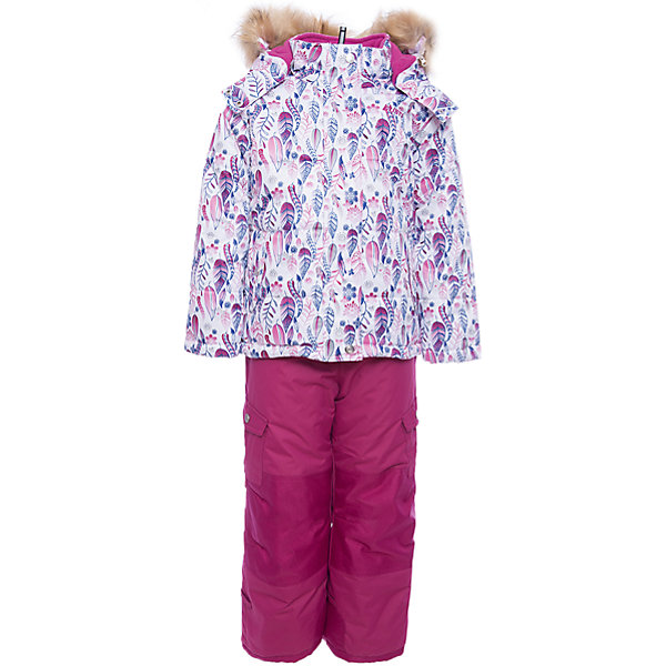 Комплект: куртка и полукомбинезон Gusti для девочкиВерхняя одежда<br>Характеристики товара:<br><br>• цвет: фуксия/принт<br>• комплектация: куртка и полукомбинезон <br>• состав ткани: таслан<br>• подкладка: куртка - флис coolquick, брюки - 100% полиэстер<br>• утеплитель: тек-полифилл<br>• сезон: зима<br>• мембранное покрытие<br>• температурный режим: от -30 до +5<br>• водонепроницаемость: 5000 мм <br>• паропроницаемость: 5000 г/м2<br>• плотность утеплителя: грудь и спина 230г/м2, рукава и брюки 170г/м2<br>• застежка: молния<br>• страна бренда: Канада<br>• страна изготовитель: Китай<br><br>Приятная на ощупь мягкая подкладка детского комплекта для зимы делает его очень комфортным. Такой комплект для зимы усилен износостойкими накладками. Такой теплый комплект для девочки позволяет коже дышать. Плотный верх детской зимней куртки и полукомбинезона не промокает и не продувается. <br><br>Комплект: куртка и полукомбинезон Gusti (Густи) для девочки можно купить в нашем интернет-магазине.<br>Ширина мм: 356; Глубина мм: 10; Высота мм: 245; Вес г: 519; Цвет: фуксия; Возраст от месяцев: 6; Возраст до месяцев: 9; Пол: Женский; Возраст: Детский; Размер: 75,82,158,150,142,134,127,123,119,112,104,100,96,89,85; SKU: 7068986;