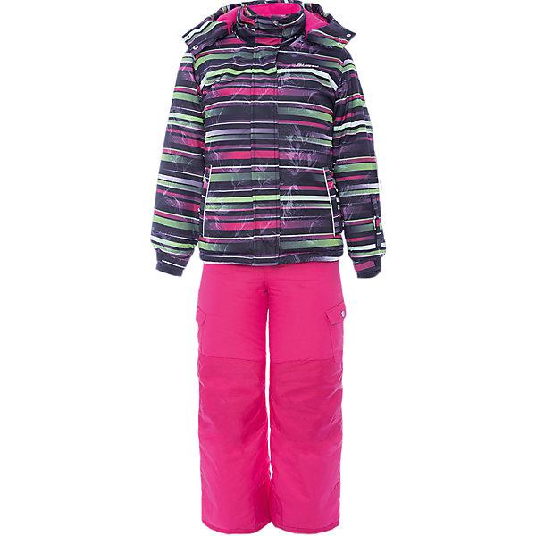 Комплект: куртка и полукомбинезон Gusti для девочкиВерхняя одежда<br>Характеристики товара:<br><br>• цвет: черный/розовый<br>• комплектация: куртка и полукомбинезон <br>• состав ткани: таслан<br>• подкладка: куртка - флис coolquick, брюки - 100% полиэстер<br>• утеплитель: тек-полифилл<br>• сезон: зима<br>• мембранное покрытие<br>• температурный режим: от -30 до +5<br>• водонепроницаемость: 5000 мм <br>• паропроницаемость: 5000 г/м2<br>• плотность утеплителя: грудь и спина 230г/м2, рукава и брюки 170г/м2<br>• застежка: молния<br>• страна бренда: Канада<br>• страна изготовитель: Китай<br><br>Практичный мембранный комплект Gusti для девочки сделан легкого, но теплого материала. Зимний комплект для ребенка отличается стильным дизайном. Верх детской зимней куртки и полукомбинезона также обеспечит защиту от грязи, влаги и ветра. Подкладка детского комплекта для зимы приятная на ощупь. <br><br>Комплект: куртка и полукомбинезон Gusti (Густи) для девочки можно купить в нашем интернет-магазине.<br>Ширина мм: 356; Глубина мм: 10; Высота мм: 245; Вес г: 519; Цвет: черный/розовый; Возраст от месяцев: 48; Возраст до месяцев: 60; Пол: Женский; Возраст: Детский; Размер: 112,158,150,142,134,127,123,119; SKU: 7069018;