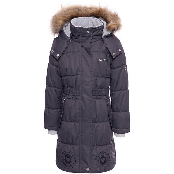 Пальто Gusti для девочкиВерхняя одежда<br>Характеристики товара:<br><br>• цвет: серый <br>• состав ткани: твил<br>• подкладка: флис coolquick<br>• утеплитель: тек-полифилл<br>• сезон: зима<br>• мембранное покрытие<br>• температурный режим: от -30 до +5<br>• водонепроницаемость: 5000 мм <br>• паропроницаемость: 5000 г/м2<br>• плотность утеплителя: грудь и спина 280г/м2, рукава 170г/м2<br>• капюшон: с опушкой, съемный<br>• застежка: молния<br>• страна бренда: Канада<br>• страна изготовитель: Китай<br><br>Это детское пальто для зимы отличается мягкой приятной на ощупь подкладкой. Верх зимнего пальто для девочки на продувается ветром и не промокает, но такое теплое пальто для ребенка позволяет коже дышать. Детское пальто стильно выглядит и легко чистится. <br><br>Пальто Gusti (Густи) для девочки можно купить в нашем интернет-магазине.<br><br>Ширина мм: 356<br>Глубина мм: 10<br>Высота мм: 245<br>Вес г: 519<br>Цвет: серый<br>Возраст от месяцев: 60<br>Возраст до месяцев: 72<br>Пол: Женский<br>Возраст: Детский<br>Размер: 119,112,104,158,150,142,134,127,123<br>SKU: 7069027