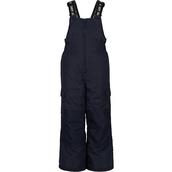 Полукомбинезон GustiВерхняя одежда<br>Характеристики товара:<br><br>• цвет: синий <br>• состав ткани: таслан<br>• подкладка: полиэстер<br>• утеплитель: тек-полифилл<br>• сезон: зима<br>• мембранное покрытие<br>• температурный режим: от -30 до +5<br>• водонепроницаемость: 5000 мм <br>• паропроницаемость: 5000 г/м2<br>• плотность утеплителя: 170г/м2<br>• износостойкое покрытие: колени, задняя часть и нижняя часть брючин<br>• лямки: регулируются<br>• застежка: молния<br>• страна бренда: Канада<br>• страна изготовитель: Китай<br><br>Этот мембранный детский полукомбинезон стильно выглядит и легко чистится. Детский полукомбинезон для зимы отличается износостойким покрытием на определенных участках. Верх зимнего полукомбинезона для девочки на продувается ветром и не промокает, но такой полукомбинезон для ребенка позволяет коже дышать. <br><br>Полукомбинезон Gusti (Густи) для девочки можно купить в нашем интернет-магазине.<br><br>Ширина мм: 215<br>Глубина мм: 88<br>Высота мм: 191<br>Вес г: 336<br>Цвет: синий<br>Возраст от месяцев: 12<br>Возраст до месяцев: 18<br>Пол: Унисекс<br>Возраст: Детский<br>Размер: 89,158,150,96,100,104,112,119,123,127,134,142<br>SKU: 7069070
