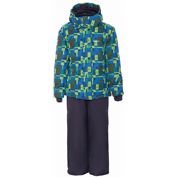 Комплект: куртка и полукомбинезон Zingaro by Gusti для мальчикаВерхняя одежда<br>Характеристики товара:<br><br>• цвет: синий<br>• комплектация: куртка и полукомбинезон <br>• состав ткани: таслан<br>• подкладка: куртка - флис coolquick, брюки - 100% полиэстер<br>• утеплитель: тек-полифилл<br>• сезон: зима<br>• мембранное покрытие<br>• температурный режим: от -30 до +5<br>• водонепроницаемость: 5000 мм <br>• паропроницаемость: 5000 г/м2<br>• плотность утеплителя: грудь и спина 230г/м2, рукава и брюки 170г/м2<br>• застежка: молния<br>• страна бренда: Канада<br>• страна изготовитель: Китай<br><br>Приятная на ощупь мягкая подкладка детского комплекта для зимы делает его очень комфортным. Такой комплект для зимы усилен износостойкими накладками. Такой теплый комплект для девочки позволяет коже дышать. Плотный верх детской зимней куртки и полукомбинезона Zingaro by Gusti не промокает и не продувается. <br><br>Комплект: куртка и полукомбинезон Zingaro by Gusti (Зингаро) для мальчика можно купить в нашем интернет-магазине.<br><br>Ширина мм: 356<br>Глубина мм: 10<br>Высота мм: 245<br>Вес г: 519<br>Цвет: белый<br>Возраст от месяцев: 12<br>Возраст до месяцев: 18<br>Пол: Мужской<br>Возраст: Детский<br>Размер: 85,158,150,142,134,127,123,119,112,104,100,96,89,82,75<br>SKU: 7069089