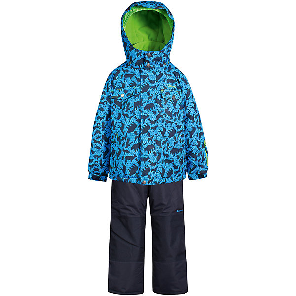 Комплект: куртка и полукомбинезон Zingaro by Gusti для мальчикаВерхняя одежда<br>Характеристики товара:<br><br>• цвет: голубой<br>• комплектация: куртка и полукомбинезон <br>• состав ткани: таслан<br>• подкладка: куртка - флис coolquick, брюки - 100% полиэстер<br>• утеплитель: тек-полифилл<br>• сезон: зима<br>• мембранное покрытие<br>• температурный режим: от -30 до +5<br>• водонепроницаемость: 5000 мм <br>• паропроницаемость: 5000 г/м2<br>• плотность утеплителя: грудь и спина 230г/м2, рукава и брюки 170г/м2<br>• застежка: молния<br>• страна бренда: Канада<br>• страна изготовитель: Китай<br><br>Стильный комплект для зимы Zingaro by Gusti усилен износостойкими накладками. Такой теплый комплект для мальчика позволяет коже дышать. Верх детской зимней куртки и полукомбинезона не промокает и не продувается. Мягкая подкладка детского комплекта для зимы приятна на ощупь.<br><br>Комплект: куртка и полукомбинезон Zingaro by Gusti (Зингаро) для мальчика можно купить в нашем интернет-магазине.<br><br>Ширина мм: 356<br>Глубина мм: 10<br>Высота мм: 245<br>Вес г: 519<br>Цвет: синий<br>Возраст от месяцев: 12<br>Возраст до месяцев: 18<br>Пол: Мужской<br>Возраст: Детский<br>Размер: 85,112,104,100,96,89,82,75,158,150,142,134,127,123,119<br>SKU: 7069121