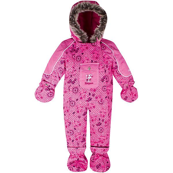 Комбинезон Zingaro by Gusti для девочкиВерхняя одежда<br>Характеристики товара:<br><br>• цвет: розовый<br>• состав ткани: таслан<br>• подкладка: флис coolquick<br>• утеплитель: тек-полифилл<br>• сезон: зима<br>• мембранное покрытие<br>• температурный режим: от -30 до +5<br>• водонепроницаемость: 2000 мм <br>• паропроницаемость: 2000 г/м2<br>• плотность утеплителя: 230г/м2<br>• пинетки и рукавицы: съемные<br>• капюшон: с опушкой, несъемный<br>• застежка: молния<br>• страна бренда: Канада<br>• страна изготовитель: Китай<br><br>Практичный мембранный комбинезон Zingaro by Gusti by Gusti для девочки сделан легкого, но теплого материала. Зимний комбинезон для ребенка отличается стильным дизайном. Верх детского комбинезона также обеспечит защиту от грязи, влаги и ветра. Подкладка детского комбинезона для зимы приятная на ощупь. <br><br>Комбинезон Zingaro by Gusti (Зингаро) для девочки можно купить в нашем интернет-магазине.<br><br>Ширина мм: 356<br>Глубина мм: 10<br>Высота мм: 245<br>Вес г: 519<br>Цвет: розовый<br>Возраст от месяцев: 3<br>Возраст до месяцев: 6<br>Пол: Женский<br>Возраст: Детский<br>Размер: 68,85,82,75,71<br>SKU: 7069169