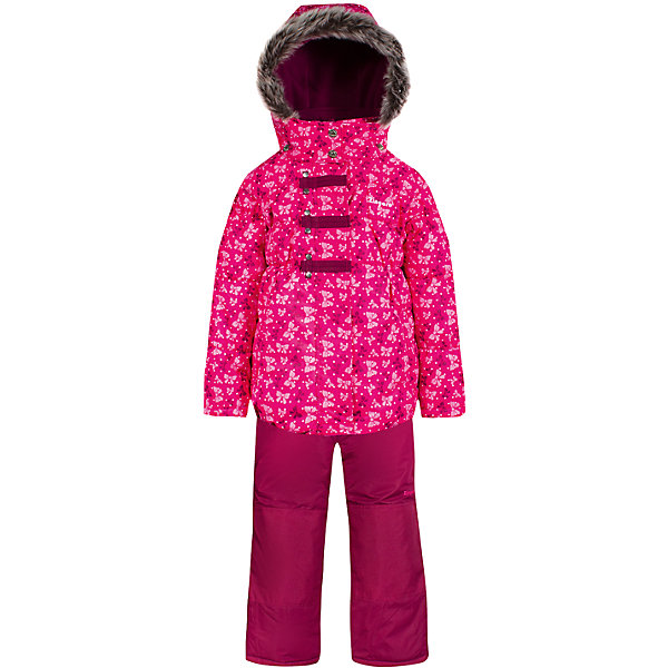 Комплект: куртка и полукомбинезон Zingaro by Gusti для девочкиВерхняя одежда<br>Характеристики товара:<br><br>• цвет: розовый<br>• комплектация: куртка и полукомбинезон <br>• состав ткани: таслан<br>• подкладка: куртка - флис coolquick, брюки - 100% полиэстер<br>• утеплитель: тек-полифилл<br>• сезон: зима<br>• мембранное покрытие<br>• температурный режим: от -30 до +5<br>• водонепроницаемость: 5000 мм <br>• паропроницаемость: 5000 г/м2<br>• плотность утеплителя: грудь и спина 230г/м2, рукава и брюки 170г/м2<br>• застежка: молния<br>• страна бренда: Канада<br>• страна изготовитель: Китай<br><br>Яркий комплект для зимы Zingaro by Gusti усилен износостойкими накладками. Такой теплый комплект для девочки позволяет коже дышать. Верх детской зимней куртки и полукомбинезона не промокает и не продувается. Мягкая подкладка детского комплекта для зимы приятна на ощупь.<br><br>Комплект: куртка и полукомбинезон Zingaro by Gusti (Зингаро) для девочки можно купить в нашем интернет-магазине.<br><br>Ширина мм: 356<br>Глубина мм: 10<br>Высота мм: 245<br>Вес г: 519<br>Цвет: розовый<br>Возраст от месяцев: 12<br>Возраст до месяцев: 18<br>Пол: Женский<br>Возраст: Детский<br>Размер: 85,100,158,150,142,134,127,123,119,112,104,96,89,82,75<br>SKU: 7069175