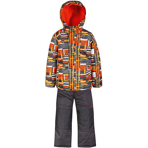 Комплект: куртка и полукомбинезон Salve by Gusti для мальчикаВерхняя одежда<br>Характеристики товара:<br><br>• цвет: оранжевый<br>• комплектация: куртка и полукомбинезон <br>• состав ткани: таслан<br>• подкладка: куртка - флис coolquick, брюки - 100% полиэстер<br>• утеплитель: тек-полифилл<br>• сезон: зима<br>• мембранное покрытие<br>• температурный режим: от -30 до +5<br>• водонепроницаемость: 5000 мм <br>• паропроницаемость: 5000 г/м2<br>• плотность утеплителя: грудь и спина 230г/м2, рукава и брюки 170г/м2<br>• застежка: молния<br>• страна бренда: Канада<br>• страна изготовитель: Китай<br><br>Яркий комплект для зимы усилен износостойкими накладками. Такой теплый комплект для мальчика позволяет коже дышать. Плотный верх детской зимней куртки и полукомбинезона Salve by Gusti не промокает и не продувается. Приятная на ощупь мягкая подкладка детского комплекта для зимы делает его очень комфортным.<br><br>Комплект: куртка и полукомбинезон Salve by Gusti by Gusti для мальчика можно купить в нашем интернет-магазине.<br>Ширина мм: 356; Глубина мм: 10; Высота мм: 245; Вес г: 519; Цвет: оранжевый; Возраст от месяцев: 12; Возраст до месяцев: 18; Пол: Мужской; Возраст: Детский; Размер: 89,134,127,119,112,104,96; SKU: 7069315;