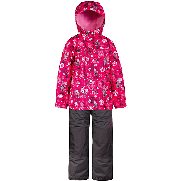 Комплект: куртка и полукомбинезон Salve by Gusti для девочкиВерхняя одежда<br>Характеристики товара:<br><br>• цвет: розовый<br>• комплектация: куртка и полукомбинезон <br>• состав ткани: таслан<br>• подкладка: куртка - флис coolquick, брюки - 100% полиэстер<br>• утеплитель: тек-полифилл<br>• сезон: зима<br>• мембранное покрытие<br>• температурный режим: от -30 до +5<br>• водонепроницаемость: 5000 мм <br>• паропроницаемость: 5000 г/м2<br>• плотность утеплителя: грудь и спина 230г/м2, рукава и брюки 170г/м2<br>• застежка: молния<br>• страна бренда: Канада<br>• страна изготовитель: Китай<br><br>Стильный комплект для зимы усилен износостойкими накладками. Такой теплый комплект для девочки позволяет коже дышать. Плотный верх детской зимней куртки и полукомбинезона Salve by Gusti не промокает и не продувается. Приятная на ощупь мягкая подкладка детского комплекта для зимы делает его очень комфортным.<br><br>Комплект: куртка и полукомбинезон Salve by Gusti by Gusti для девочки можно купить в нашем интернет-магазине.<br><br>Ширина мм: 356<br>Глубина мм: 10<br>Высота мм: 245<br>Вес г: 519<br>Цвет: розовый<br>Возраст от месяцев: 12<br>Возраст до месяцев: 18<br>Пол: Женский<br>Возраст: Детский<br>Размер: 89,134,127,119,112,104,96<br>SKU: 7069339