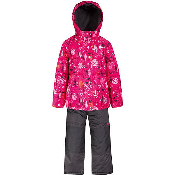 Комплект: куртка и полукомбинезон Salve by Gusti для девочкиВерхняя одежда<br>Характеристики товара:<br><br>• цвет: розовый<br>• комплектация: куртка и полукомбинезон <br>• состав ткани: таслан<br>• подкладка: куртка - флис coolquick, брюки - 100% полиэстер<br>• утеплитель: тек-полифилл<br>• сезон: зима<br>• мембранное покрытие<br>• температурный режим: от -30 до +5<br>• водонепроницаемость: 5000 мм <br>• паропроницаемость: 5000 г/м2<br>• плотность утеплителя: грудь и спина 230г/м2, рукава и брюки 170г/м2<br>• застежка: молния<br>• страна бренда: Канада<br>• страна изготовитель: Китай<br><br>Удобный комплект для зимы усилен износостойкими накладками. Такой теплый комплект для девочки позволяет коже дышать. Плотный верх детской зимней куртки и полукомбинезона Salve by Gusti не промокает и не продувается. Приятная на ощупь мягкая подкладка детского комплекта для зимы делает его очень комфортным.<br><br>Комплект: куртка и полукомбинезон Salve by Gusti by Gusti для девочки можно купить в нашем интернет-магазине.<br><br>Ширина мм: 356<br>Глубина мм: 10<br>Высота мм: 245<br>Вес г: 519<br>Цвет: розовый<br>Возраст от месяцев: 12<br>Возраст до месяцев: 18<br>Пол: Женский<br>Возраст: Детский<br>Размер: 89,134,127,119,112,104,96<br>SKU: 7069387