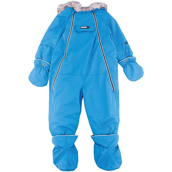 Комбинезон Gusti для мальчикаКомбинезоны<br>Характеристики товара:<br><br>• цвет: голубой<br>• состав ткани: твил<br>• подкладка: флис coolquick<br>• утеплитель: тек-полифилл<br>• сезон: зима<br>• мембранное покрытие<br>• температурный режим: от -30 до +5<br>• водонепроницаемость: 5000 мм <br>• паропроницаемость: 5000 г/м2<br>• плотность утеплителя: 230г/м2<br>• пинетки и рукавицы: съемные<br>• капюшон: с опушкой, несъемный<br>• застежка: молния<br>• страна бренда: Канада<br>• страна изготовитель: Китай<br><br>Зимний комбинезон для ребенка отличается стильным дизайном. Верх детского комбинезона также обеспечит защиту от грязи, влаги и ветра. Подкладка детского комбинезона для зимы приятная на ощупь. Практичный мембранный комбинезон Gusti для мальчика сделан легкого, но теплого материала. <br><br>Комбинезон Gusti (Густи) для мальчика можно купить в нашем интернет-магазине.<br>Ширина мм: 356; Глубина мм: 10; Высота мм: 245; Вес г: 519; Цвет: синий; Возраст от месяцев: 3; Возраст до месяцев: 6; Пол: Мужской; Возраст: Детский; Размер: 75,85,68,82,71; SKU: 7070619;