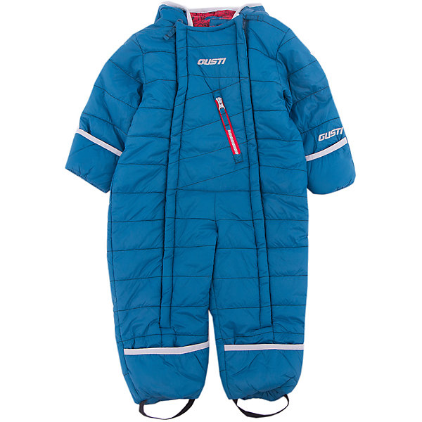 Комбинезон Gusti для мальчикаКомбинезоны<br>Характеристики товара:<br><br>• цвет: синий<br>• состав ткани: твил<br>• подкладка: флис coolquick<br>• утеплитель: тек-полифилл<br>• сезон: зима<br>• мембранное покрытие<br>• температурный режим: от -30 до +5<br>• водонепроницаемость: 5000 мм <br>• паропроницаемость: 5000 г/м2<br>• плотность утеплителя: 230г/м2<br>• капюшон: несъемный<br>• застежка: молния<br>• страна бренда: Канада<br>• страна изготовитель: Китай<br><br>Верх теплого детского комбинезона с мембраной - это защита от грязи, влаги и ветра. Подкладка детского комбинезона для зимы - флис, мягкий и приятный на ощупь. Практичный комбинезон Gusti для мальчика легкий и теплый.<br><br>Комбинезон Gusti (Густи) для мальчика можно купить в нашем интернет-магазине.<br><br>Ширина мм: 356<br>Глубина мм: 10<br>Высота мм: 245<br>Вес г: 519<br>Цвет: синий<br>Возраст от месяцев: 6<br>Возраст до месяцев: 9<br>Пол: Мужской<br>Возраст: Детский<br>Размер: 75,62,68,71<br>SKU: 7070631