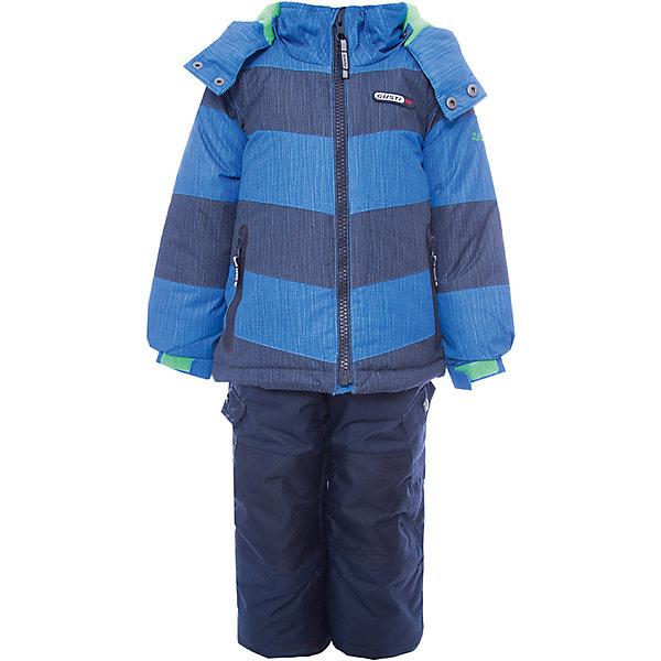 Купить Комплект: куртка и полукомбинезон Gusti для мальчика, Китай, синий, 100, 112, 96, 89, 119, 104, 158, 150, 142, 134, 127, 123, Мужской