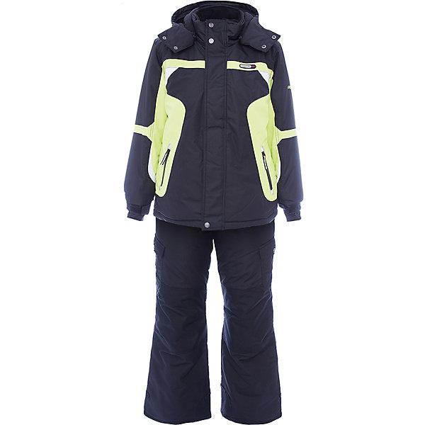 Комплект: куртка и полукомбинезон Gusti для мальчикаВерхняя одежда<br>Характеристики товара:<br><br>• цвет: зеленый<br>• комплектация: куртка и полукомбинезон <br>• состав ткани: таслан<br>• подкладка: куртка - флис coolquick, брюки - 100% полиэстер<br>• утеплитель: тек-полифилл<br>• сезон: зима<br>• мембранное покрытие<br>• температурный режим: от -30 до +5<br>• водонепроницаемость: 5000 мм <br>• паропроницаемость: 5000 г/м2<br>• плотность утеплителя: грудь и спина 230г/м2, рукава и брюки 170г/м2<br>• застежка: молния<br>• страна бренда: Канада<br>• страна изготовитель: Китай<br><br>Яркий комплект Gusti для мальчика рассчитан даже на сильные морозы. Оригинальный детский комплект от канадского бренда Gusti теплый и легкий. Мембранный зимний комплект для ребенка отличается продуманным дизайном. Непромокаемый и непродуваемый верх детского комплекта не задерживает воздух. <br><br>Комплект: куртка и полукомбинезон Gusti (Густи) для мальчика можно купить в нашем интернет-магазине.<br><br>Ширина мм: 356<br>Глубина мм: 10<br>Высота мм: 245<br>Вес г: 519<br>Цвет: белый<br>Возраст от месяцев: 60<br>Возраст до месяцев: 72<br>Пол: Мужской<br>Возраст: Детский<br>Размер: 119,112,104,100,96,89,158,150,142,134,127,123<br>SKU: 7070738
