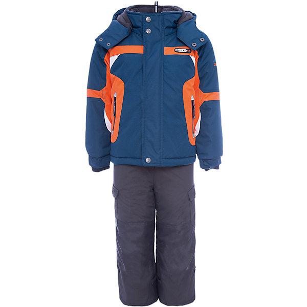 Комплект: куртка и полукомбинезон Gusti для мальчикаВерхняя одежда<br>Характеристики товара:<br><br>• цвет: синий<br>• комплектация: куртка и полукомбинезон <br>• состав ткани: таслан<br>• подкладка: куртка - флис coolquick, брюки - 100% полиэстер<br>• утеплитель: тек-полифилл<br>• сезон: зима<br>• мембранное покрытие<br>• температурный режим: от -30 до +5<br>• водонепроницаемость: 5000 мм <br>• паропроницаемость: 5000 г/м2<br>• плотность утеплителя: грудь и спина 230г/м2, рукава и брюки 170г/м2<br>• застежка: молния<br>• страна бренда: Канада<br>• страна изготовитель: Китай<br><br>Верх детской зимней куртки и полукомбинезона также обеспечит защиту от грязи, влаги и ветра. Подкладка детского комплекта для зимы приятная на ощупь. Прочный мембранный комплект Gusti для мальчика сделан легкого, но теплого материала. Зимний комплект для ребенка отличается стильным дизайном. <br><br>Комплект: куртка и полукомбинезон Gusti (Густи) для мальчика можно купить в нашем интернет-магазине.<br><br>Ширина мм: 356<br>Глубина мм: 10<br>Высота мм: 245<br>Вес г: 519<br>Цвет: синий<br>Возраст от месяцев: 36<br>Возраст до месяцев: 48<br>Пол: Мужской<br>Возраст: Детский<br>Размер: 104,112,100,96,89,158,150,142,134,127,123,119<br>SKU: 7070751