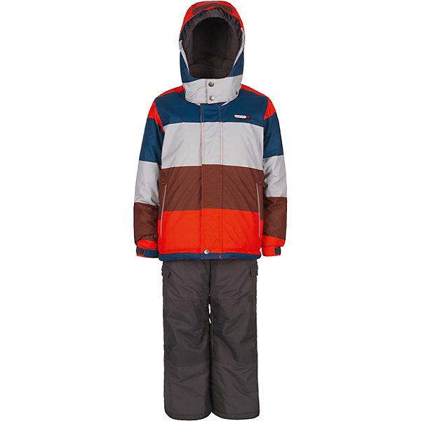Комплект: куртка и полукомбинезон Gusti для мальчикаВерхняя одежда<br>Характеристики товара:<br><br>• цвет: оранжевый<br>• комплектация: куртка и полукомбинезон <br>• состав ткани: таслан<br>• подкладка: куртка - флис coolquick, брюки - 100% полиэстер<br>• утеплитель: тек-полифилл<br>• сезон: зима<br>• мембранное покрытие<br>• температурный режим: от -30 до +5<br>• водонепроницаемость: 5000 мм <br>• паропроницаемость: 5000 г/м2<br>• плотность утеплителя: грудь и спина 230г/м2, рукава и брюки 170г/м2<br>• застежка: молния<br>• страна бренда: Канада<br>• страна изготовитель: Китай<br><br>Модный комплект Gusti для мальчика рассчитан даже на сильные морозы. Оригинальный детский комплект от канадского бренда Gusti теплый и легкий. Мембранный зимний комплект для ребенка отличается продуманным дизайном. Непромокаемый и непродуваемый верх детского комплекта не задерживает воздух. <br><br>Комплект: куртка и полукомбинезон Gusti (Густи) для мальчика можно купить в нашем интернет-магазине.<br><br>Ширина мм: 356<br>Глубина мм: 10<br>Высота мм: 245<br>Вес г: 519<br>Цвет: белый<br>Возраст от месяцев: 12<br>Возраст до месяцев: 18<br>Пол: Мужской<br>Возраст: Детский<br>Размер: 89,158,142,150,134,127,123,119,112,104,100,96<br>SKU: 7070777
