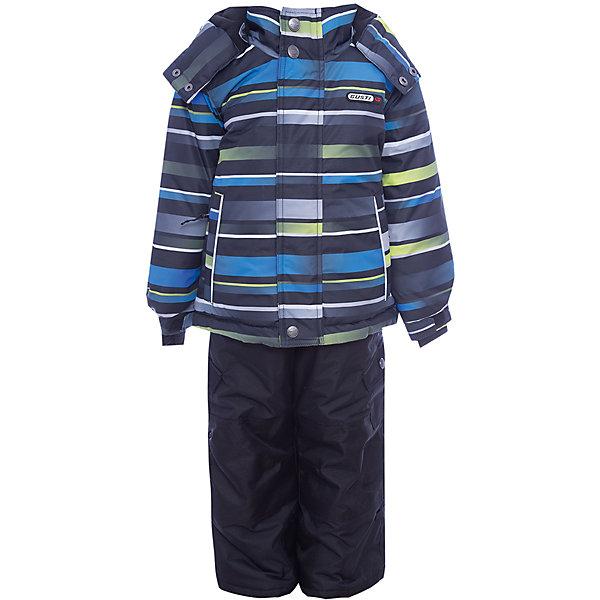 Комплект: куртка и полукомбинезон Gusti для мальчикаВерхняя одежда<br>Характеристики товара:<br><br>• цвет: черный<br>• комплектация: куртка и полукомбинезон <br>• состав ткани: таслан<br>• подкладка: куртка - флис coolquick, брюки - 100% полиэстер<br>• утеплитель: тек-полифилл<br>• сезон: зима<br>• мембранное покрытие<br>• температурный режим: от -30 до +5<br>• водонепроницаемость: 5000 мм <br>• паропроницаемость: 5000 г/м2<br>• плотность утеплителя: грудь и спина 230г/м2, рукава и брюки 170г/м2<br>• застежка: молния<br>• страна бренда: Канада<br>• страна изготовитель: Китай<br><br>Теплый комплект для зимы усилен износостойкими накладками. Приятная на ощупь мягкая подкладка детского комплекта для зимы делает его очень комфортным. Этот теплый комплект для мальчика позволяет коже дышать. Плотный верх детской зимней куртки и полукомбинезона не промокает и не продувается. <br><br>Комплект: куртка и полукомбинезон Gusti (Густи) для мальчика можно купить в нашем интернет-магазине.<br><br>Ширина мм: 356<br>Глубина мм: 10<br>Высота мм: 245<br>Вес г: 519<br>Цвет: белый<br>Возраст от месяцев: 12<br>Возраст до месяцев: 15<br>Пол: Мужской<br>Возраст: Детский<br>Размер: 82,104,112,119,123,127,142,150,158,85,89,134,96,75,100<br>SKU: 7070806