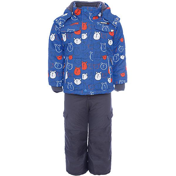 Купить Комплект: куртка и полукомбинезон Gusti для мальчика, Китай, белый, 75, 123, 119, 112, 104, 100, 96, 89, 85, 82, Мужской