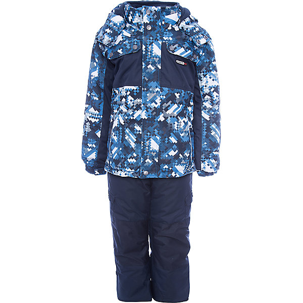 Комплект: куртка и полукомбинезон Gusti для мальчикаВерхняя одежда<br>Характеристики товара:<br><br>• цвет: синий/голубой<br>• комплектация: куртка и полукомбинезон <br>• состав ткани: таслан<br>• подкладка: куртка - флис coolquick, брюки - 100% полиэстер<br>• утеплитель: тек-полифилл<br>• сезон: зима<br>• мембранное покрытие<br>• температурный режим: от -30 до +5<br>• водонепроницаемость: 5000 мм <br>• паропроницаемость: 5000 г/м2<br>• плотность утеплителя: грудь и спина 230г/м2, рукава и брюки 170г/м2<br>• застежка: молния<br>• страна бренда: Канада<br>• страна изготовитель: Китай<br><br>Плотный верх детской зимней куртки и полукомбинезона не промокает и не продувается, его легко чистить. Модный комплект для зимы усилен износостойкими накладками. Мягкая подкладка детского комплекта для зимы делает его очень комфортным. Этот теплый комплект для мальчика позволяет коже дышать. <br><br>Комплект: куртка и полукомбинезон Gusti (Густи) для мальчика можно купить в нашем интернет-магазине.<br>Ширина мм: 356; Глубина мм: 10; Высота мм: 245; Вес г: 519; Цвет: синий; Возраст от месяцев: 12; Возраст до месяцев: 18; Пол: Мужской; Возраст: Детский; Размер: 89,158,82,75,150,142,134,127,123,85,119,112,104,100,96; SKU: 7070955;