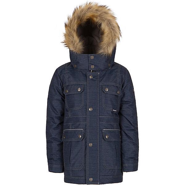 Парка Gusti для мальчикаВерхняя одежда<br>Характеристики товара:<br><br>• цвет: синий<br>• состав ткани: таслан<br>• подкладка: флис coolquick<br>• утеплитель: тек-полифилл<br>• сезон: зима<br>• мембранное покрытие<br>• температурный режим: от -30 до +5<br>• водонепроницаемость: 5000 мм <br>• паропроницаемость: 5000 г/м2<br>• плотность утеплителя: грудь и спина 230г/м2, рукава 170г/м2<br>• капюшон: с опушкой, съемный<br>• застежка: молния<br>• страна бренда: Канада<br>• страна изготовитель: Китай<br><br>Непромокаемый и непродуваемый верх детской парки не задерживает воздух. Модная парка Gusti для мальчика рассчитана даже на сильные морозы. Детская парка от канадского бренда Gusti теплая и легкая. Мембранная зимняя куртка для ребенка отличается продуманным дизайном. <br><br>Парку Gusti (Густи) для мальчика можно купить в нашем интернет-магазине.<br><br>Ширина мм: 356<br>Глубина мм: 10<br>Высота мм: 245<br>Вес г: 519<br>Цвет: синий<br>Возраст от месяцев: 72<br>Возраст до месяцев: 84<br>Пол: Мужской<br>Возраст: Детский<br>Размер: 123,134,158,150,142,127,119,112,104,100,96,89<br>SKU: 7071109