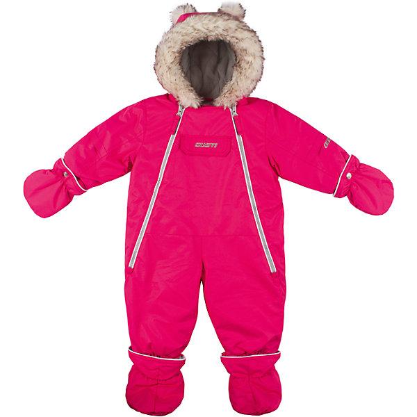 Комбинезон Gusti для девочкиКомбинезоны<br>Характеристики товара:<br><br>• цвет: розовый<br>• состав ткани: таслан<br>• подкладка: флис coolquick<br>• утеплитель: тек-полифилл<br>• сезон: зима<br>• мембранное покрытие<br>• температурный режим: от -30 до +5<br>• водонепроницаемость: 5000 мм <br>• паропроницаемость: 5000 г/м2<br>• плотность утеплителя: грудь и спина 230г/м2, рукава 170г/м2<br>• капюшон: с опушкой, съемный<br>• застежка: молния<br>• страна бренда: Канада<br>• страна изготовитель: Китай<br><br>Модная детская парка отлично подойдет для зимних морозов. Мягкая подкладка детской парки для зимы делает её очень комфортной. Эта теплая парка для девочки позволяет коже дышать. Плотный верх детской зимней куртки не промокает и не продувается, его легко чистить. <br><br>Парку Gusti (Густи) для девочки можно купить в нашем интернет-магазине.<br>Ширина мм: 356; Глубина мм: 10; Высота мм: 245; Вес г: 519; Цвет: розовый; Возраст от месяцев: 3; Возраст до месяцев: 6; Пол: Женский; Возраст: Детский; Размер: 68,85,82,75,71; SKU: 7071135;