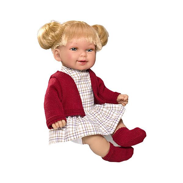 Кукла Vestida de Azul Кина, блондинка с хвостиками, ОсеньКуклы<br>Характеристики:<br><br>• вес: 650г.;<br>• материал: винил, текстиль;<br>• упаковка: коробка;<br>• Размер упаковки: 38х12х42см.;<br>• для детей в возрасте: от 3 лет;<br>• страна производитель: Испания.<br><br>Кукла «Кина блондинка с хвостиками Осень» бренда Vestida de Azul (Вестида Де Азул) станет желанным подарком для маленькой девочки. Она создана из высококачественных, экологически чистых материалов, что очень важно для детских товаров.<br><br>Милая куколка малышка с длинными густыми волосами, в шикарном наряде не оставит равнодушной ни одну девочку. Игрушка имеет оптимальный размер, её рост составляет тридцать сантиметров. У неё мягкое тельце, а ножки и ручки хорошо двигаются. Кину можно брать с собой в путешествия и на прогулки, чтобы показывать подружкам и играть вместе с ними.<br><br>Играя с куклой дети могут создавать свой стиль в одежде и причёске, развивать фантазию, креативность.<br><br>Куклу «Кина блондинка с хвостиками Осень» можно купить в нашем интернет-магазине.<br>Ширина мм: 380; Глубина мм: 120; Высота мм: 240; Вес г: 650; Возраст от месяцев: 72; Возраст до месяцев: 2147483647; Пол: Женский; Возраст: Детский; SKU: 7073753;