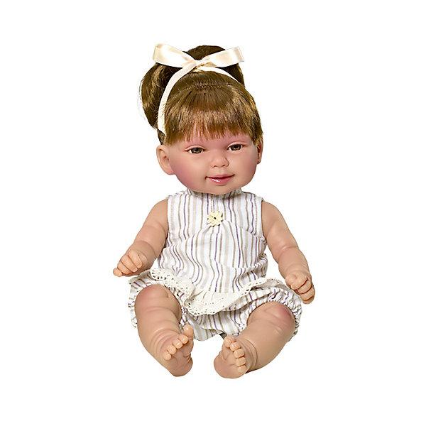 Кукла Vestida de Azul Кина брюнетка с хвостиком, ЛетоКуклы<br><br>Ширина мм: 380; Глубина мм: 120; Высота мм: 240; Вес г: 650; Возраст от месяцев: 72; Возраст до месяцев: 2147483647; Пол: Женский; Возраст: Детский; SKU: 7073754;