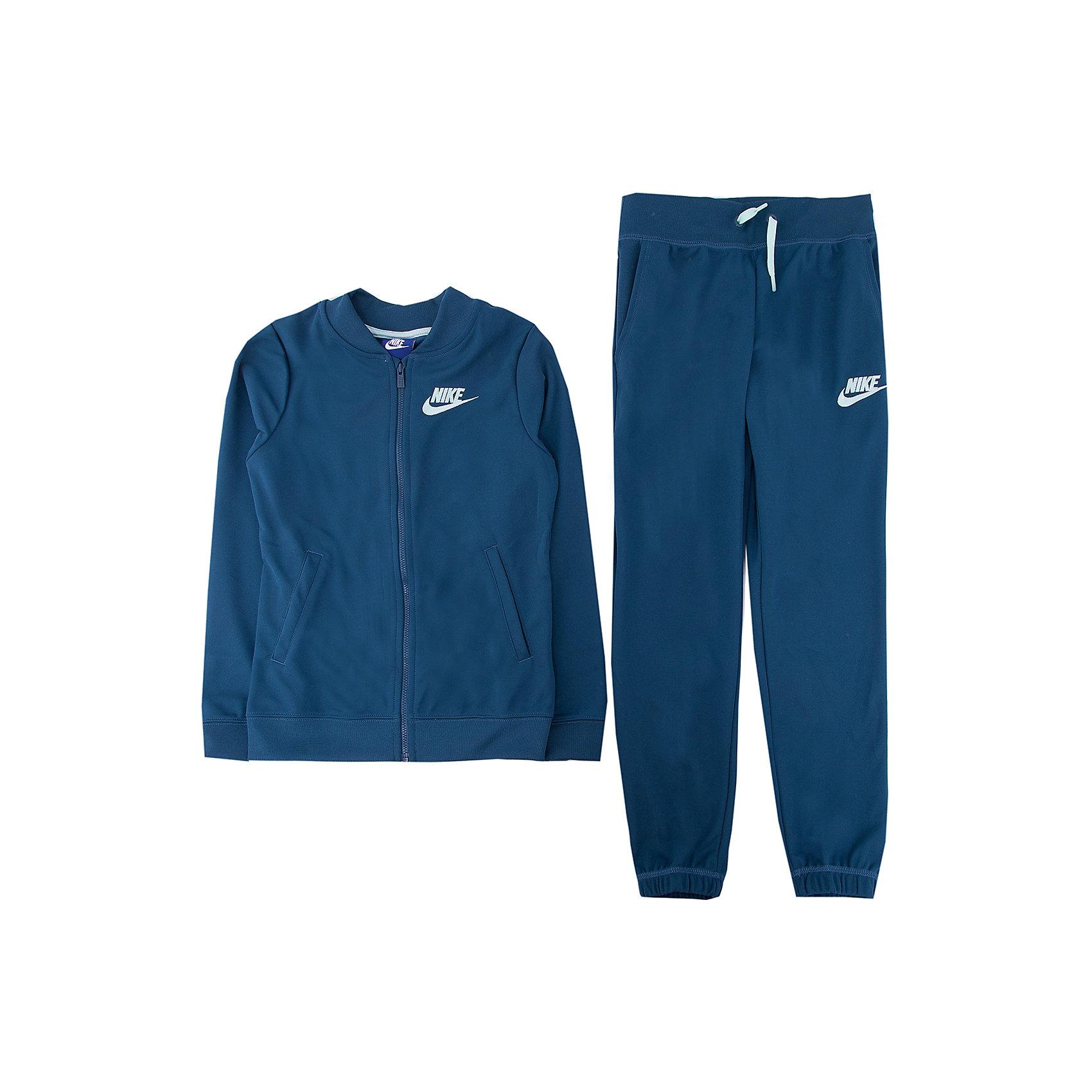 Спортивный костюм NIKEСпортивная форма<br>Характеристики товара:<br><br>• цвет: синий<br>• комплектация: курточка, брюки<br>• состав ткани: 100% полиэстер <br>• длинные рукава<br>• застежка: молния<br>• пояс: резинка и шнурок<br>• особенности модели: спортивный стиль<br>• сезон: демисезон<br>• страна бренда: США<br>• страна изготовитель: Малайзия<br><br>Спортивный костюм Найк сделан из качественного легкого материала. Синий спортивный костюм Nike отлично подходит для отдыха и занятий спортом. Эта модель спортивного комплекта для детей отличается стильным продуманным дизайном. Детский спортивный костюм от Nike выполнен в красивой расцветке. <br><br>Спортивный костюм Nike (Найк) можно купить в нашем интернет-магазине.<br><br>Ширина мм: 247<br>Глубина мм: 16<br>Высота мм: 140<br>Вес г: 225<br>Цвет: зеленый<br>Возраст от месяцев: 108<br>Возраст до месяцев: 120<br>Пол: Унисекс<br>Возраст: Детский<br>Размер: 135/140,147/158,158/170,122/128,128/134<br>SKU: 7073934