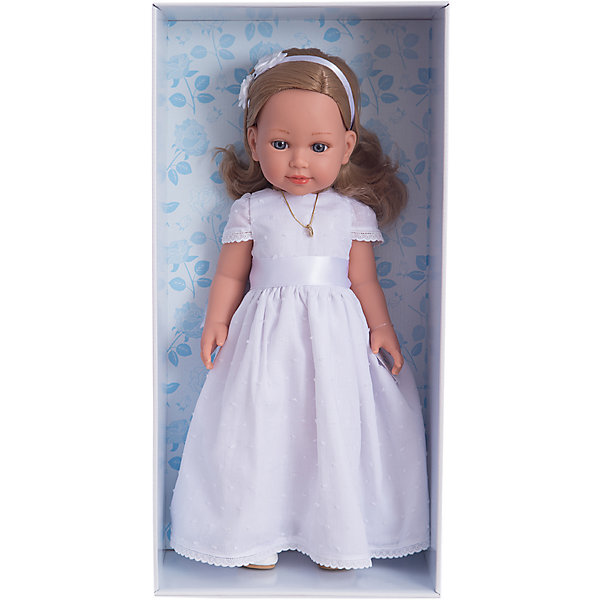 Кукла Vestida de Azul Корал блондинка, первое причастиеКуклы<br><br><br>Ширина мм: 470<br>Глубина мм: 160<br>Высота мм: 250<br>Вес г: 1250<br>Возраст от месяцев: 36<br>Возраст до месяцев: 2147483647<br>Пол: Женский<br>Возраст: Детский<br>SKU: 7074015