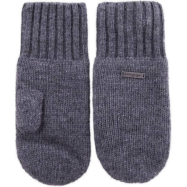 Варежки Gulliver для мальчикаПерчатки, варежки<br>Характеристики товара:<br><br>• цвет: серый;<br>• состав: 40% шерсть, 40% вискоза, 20% хлопок;<br>• температурный режим: от +5 до -15С;<br>• сезон: зима;<br>• особенности: вязаные;<br>• неколючая шерсть;<br>• коллекция: Воздушная регата;<br>• страна бренда: Россия;<br>• страна изготовитель: Китай.<br><br>Детские варежки - вещь для зимы совершенно необходимая. Мягкие вязаные варежки защитят нежную кожу ребенка, создав уют и комфорт. Прекрасный состав пряжи делает их теплыми и очень мягкими. Фурнитура с логотипом бренда.<br><br>Варежки Gulliver для мальчика (Гулливер) можно купить в нашем интернет-магазине.<br>Ширина мм: 162; Глубина мм: 171; Высота мм: 55; Вес г: 119; Цвет: серый; Возраст от месяцев: 36; Возраст до месяцев: 48; Пол: Мужской; Возраст: Детский; Размер: 12,14; SKU: 7076681;