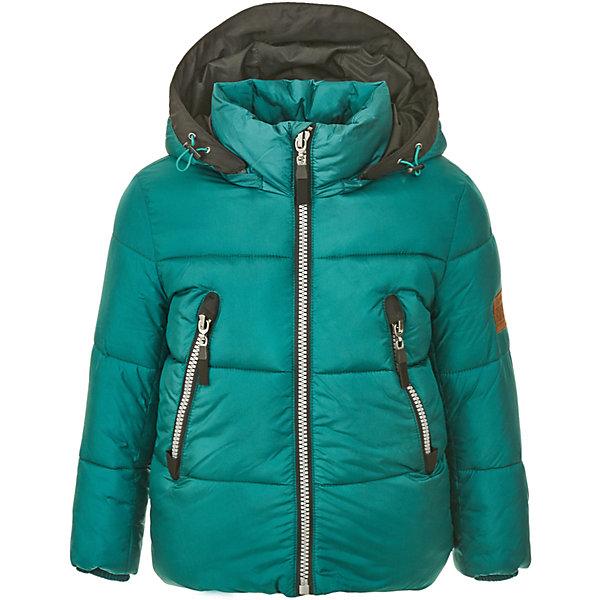 Куртка Gulliver для мальчикаВерхняя одежда<br>Характеристики товара:<br><br>• цвет: зеленый;<br>• состав: 100% нейлон;<br>• подкладка: 100% полиэстер;<br>• утеплитель: 100% полиэстер, синтепух;<br>• сезон: демисезон;<br>• температурный режим: от +7 до -10С;<br>• особенности: однотонная;<br>• застежка: молния с защитой подбородка;<br>• капюшон не отстегивается;<br>• шнурок-утяжка со стопером на капюшоне;<br>• внутренние трикотажные эластичные манжеты;<br>• два кармана на молнии;<br>• коллекция: Навигатор;<br>• страна бренда: Россия;<br>• страна изготовитель: Китай.<br><br>Демисезонная куртка на молнии для мальчика. Куртка из коллекции Навигатор упрощает задачу, потому что сочетает в себе все лучшие характеристики детских курток для мальчиков. Удобная форма, интересный необычный цвет, правильная  длина, множество выразительных функциональных и декоративных деталей делают куртку яркой и привлекательной. Эта куртка с капюшоном подарит своему обладателю прекрасный внешний вид, комфорт, индивидуальность.<br><br>Куртку Gulliver для мальчика (Гулливер) можно купить в нашем интернет-магазине.<br><br>Ширина мм: 356<br>Глубина мм: 10<br>Высота мм: 245<br>Вес г: 519<br>Цвет: голубой<br>Возраст от месяцев: 24<br>Возраст до месяцев: 36<br>Пол: Мужской<br>Возраст: Детский<br>Размер: 116,110,104,98<br>SKU: 7076723
