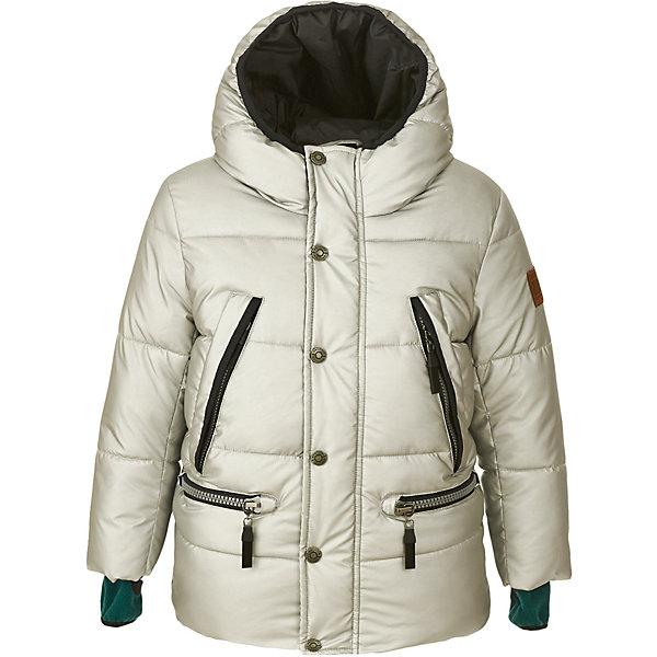 Куртка Gulliver для мальчикаДемисезонные куртки<br>Характеристики товара:<br><br>• цвет: серебро;<br>• состав: 100% полиэстер;<br>• подкладка: 100% полиэстер;<br>• утеплитель: 100% полиэстер;<br>• сезон: демисезон;<br>• температурный режим: от +7 до -10С;<br>• застежка: молния с защитой подбородка;<br>• дополнительная планка на кнопках;<br>• капюшон не отстегивается;<br>• внутренние манжеты с отверстием для большого пальца;<br>• четыре кармана на молнии;<br>• коллекция: Навигатор;<br>• страна бренда: Россия;<br>• страна изготовитель: Китай.<br><br>Демисезонная куртка на молнии для мальчика. Куртка из коллекции Навигатор упрощает задачу, потому что сочетает в себе все лучшие характеристики детских курток для мальчиков. Модная форма, интересный цвет: серебристый металлик, комфортная длина, множество выразительных функциональных и декоративных деталей делают куртку яркой и привлекательной. Эта куртка с капюшоном подарит своему обладателю прекрасный внешний вид, удобство, индивидуальность.<br><br>Куртку Gulliver для мальчика (Гулливер) можно купить в нашем интернет-магазине.<br>Ширина мм: 356; Глубина мм: 10; Высота мм: 245; Вес г: 519; Цвет: серебряный; Возраст от месяцев: 48; Возраст до месяцев: 60; Пол: Мужской; Возраст: Детский; Размер: 110,98,116,104; SKU: 7076728;