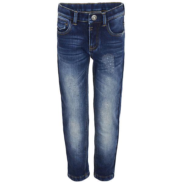 Джинсы на флисе Gulliver для мальчикаДжинсовая одежда<br>Характеристики товара:<br><br>• цвет: синий;<br>• состав: 98% хлопок, 2% эластан;<br>• подкладка: 100% полиэстер, флис;<br>• без дополнительного утепления;<br>• сезон: демисезон;<br>• температурный режим: от +10 до -10С;<br>• застежка: ширинка на молнии и пуговица;<br>• сплошная флисовая подкладка;<br>• наличие шлевок для ремня;<br>• эффект потертостей;<br>• классическая модель с 5-ю карманами;<br>• коллекция: Навигатор;<br>• страна бренда: Россия;<br>• страна изготовитель: Китай.<br><br>Утепленные джинсы - это возможность быть стильным и современным в любую погоду. Тонкий флис на внутренней части изделия не создает ненужного объема, сохраняя актуальную форму модели, но делает синие джинсы теплыми и уютными. Синие джинсы с модными потертостями и варкой.<br><br>Джинсы на флисе Gulliver для мальчика (Гулливер) можно купить в нашем интернет-магазине.<br>Ширина мм: 215; Глубина мм: 88; Высота мм: 191; Вес г: 336; Цвет: синий; Возраст от месяцев: 24; Возраст до месяцев: 36; Пол: Мужской; Возраст: Детский; Размер: 98,104,116,110; SKU: 7076738;