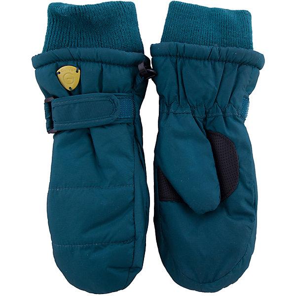 Варежки Gulliver для мальчикаПерчатки, варежки<br>Характеристики товара:<br><br>• цвет: зеленый;<br>• состав: 100% нейлон;<br>• подкладка: 100% полиэстер;<br>• утеплитель: 100% полиэстер;<br>• сезон: демисезон, зима;<br>• температурный режим: от +5 до -20С;<br>• особенности: непромокаемые;<br>• утяжка для регулировка обхвата кисти;<br>• мягкие эластичные манжеты защищают от попадания снега внутрь;<br>• усиленная вставка на ладони;<br>• коллекция: Навигатор;<br>• страна бренда: Россия;<br>• страна изготовитель: Китай.<br><br>Детские варежки - важная вещь для морозной погоды! Плащевые варежки имеют утяжку, трикотажные подвязы, защищающие от попадания снега внутрь, а также комфортный протектор на ладонной части, повышающий износостойкость изделия.<br><br>Варежки Gulliver для мальчика (Гулливер) можно купить в нашем интернет-магазине.<br><br>Ширина мм: 162<br>Глубина мм: 171<br>Высота мм: 55<br>Вес г: 119<br>Цвет: голубой<br>Возраст от месяцев: 12<br>Возраст до месяцев: 18<br>Пол: Мужской<br>Возраст: Детский<br>Размер: 12,14<br>SKU: 7076764