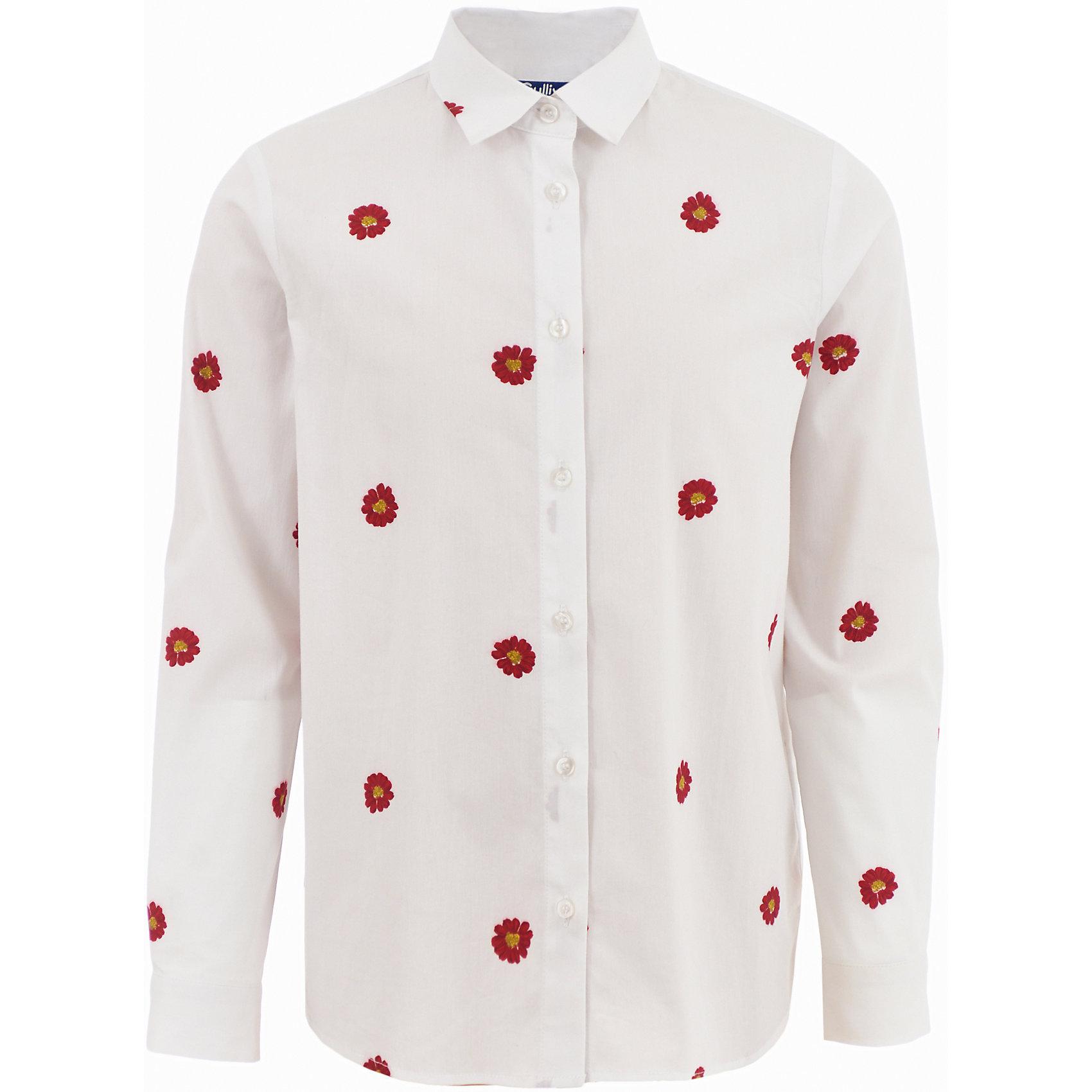 Блузка Gulliver для девочкиБлузки и рубашки<br>Блузка Gulliver для девочки<br>Трендовая вещь коллекции - объемная серая толстовка с яркими вышивками и аппликациями - не позволит пройти мимо. Великолепное качество трикотажного полотна, модный объем, силуэт, оформление с использованием сияющих пайеток - прекрасный микс для красоты и комфорта. Если вы хотите купить толстовку для девочки, но вам наскучили базовые вещи, толстовка из коллекции Коллаж вас не разочарует. Созданная в лучших традициях Gulliver, она создаст отличное настроение, подчеркнув обаяние и индивидуальность ребенка.<br>Состав:<br>100% хлопок<br><br>Ширина мм: 186<br>Глубина мм: 87<br>Высота мм: 198<br>Вес г: 197<br>Цвет: белый<br>Возраст от месяцев: 108<br>Возраст до месяцев: 120<br>Пол: Женский<br>Возраст: Детский<br>Размер: 140,122,128,134<br>SKU: 7076787
