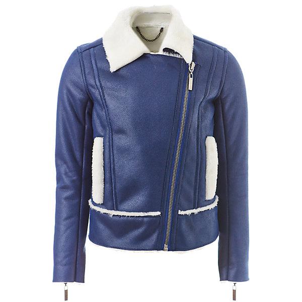 Куртка Gulliver для девочкиДемисезонные куртки<br>Характеристики товара:<br><br>• цвет: синий;<br>• состав: 100% полиэстер, экокожа;<br>• подкладка: 100% полиэстер, искусственный мех;<br>• без дополнительного утепления;<br>• сезон: демисезон;<br>• температурный режим: от -5 до +10С;<br>• застежка: ассиметричная молния;<br>• подкладка из искусственного меха;<br>• молния на рукавах;<br>• два прорезных кармана с опушкой;<br>• коллекция: Коллаж;<br>• страна бренда: Россия;<br>• страна изготовитель: Китай.<br><br>Куртка-косуха для девочки. Эта куртка-косуха - мечта каждой модницы! Сделанная из мягкой эко кожи и коротковорсового искусственного меха, куртка выглядит потрясающе! Модный синий цвет, актуальный силуэт, правильная длина, асимметричная застежка, крупная металлическая молния - в этой модели все совпало для создания дерзкого и динамичного образа.<br><br>Куртку Gulliver для девочки (Гулливер) можно купить в нашем интернет-магазине.<br>Ширина мм: 356; Глубина мм: 10; Высота мм: 245; Вес г: 519; Цвет: синий; Возраст от месяцев: 72; Возраст до месяцев: 84; Пол: Женский; Возраст: Детский; Размер: 122,140,134,128; SKU: 7076797;