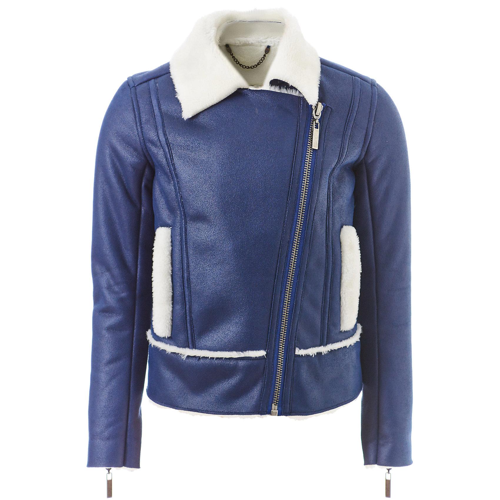 Куртка Gulliver для девочкиВерхняя одежда<br>Куртка Gulliver для девочки<br>Яркий красный свитер не оставляет сомнений в том, что эта вещь станет одной из самых любимых в осенне-зимнем гардеробе ребенка! Свободная форма, модные косы в оформлении передней части модели делают свитер стильным и интересным. Прекрасный состав пряжи исключает колкость изделия, гарантируя мягкость и уют. Теплый свитер для девочки идеально дополнит любой комплект и сделает каждый день ребенка комфортным.<br>Состав:<br>40% вискоза     20% шерсть     20% нейлон     20% ангора<br><br>Ширина мм: 356<br>Глубина мм: 10<br>Высота мм: 245<br>Вес г: 519<br>Цвет: синий<br>Возраст от месяцев: 72<br>Возраст до месяцев: 84<br>Пол: Женский<br>Возраст: Детский<br>Размер: 122,140,134,128<br>SKU: 7076797
