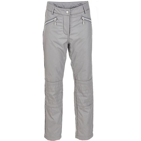 Брюки на флисе Gulliver для девочкиВерхняя одежда<br>Характеристики товара:<br><br>• цвет: серый;<br>• состав: 100% полиэстер; <br>• подкладка: 100% полиэстер, флис;<br>• без дополнительного утепления;<br>• сезон: демисезон;<br>• особенности: на флисе;<br>• застежка: ширинка на молнии и застежка-крючок;<br>• внутренняя регулировка талии;<br>• два передних кармана на молнии;<br>• два накладных кармана сзади;<br>• коллекция: Игра теней;<br>• страна бренда: Россия;<br>• страна изготовитель: Китай.<br><br>Утепленные брюки для девочки - изделие из разряда must have! Непромокаемые плащевые брюки на флисе создадут комфорт и уют при длительных прогулках в сырую и дождливую погоду.<br><br>Брюки Gulliver для девочки (Гулливер) можно купить в нашем интернет-магазине.<br>Ширина мм: 215; Глубина мм: 88; Высота мм: 191; Вес г: 336; Цвет: серый; Возраст от месяцев: 72; Возраст до месяцев: 84; Пол: Женский; Возраст: Детский; Размер: 122,140,134,128; SKU: 7076926;