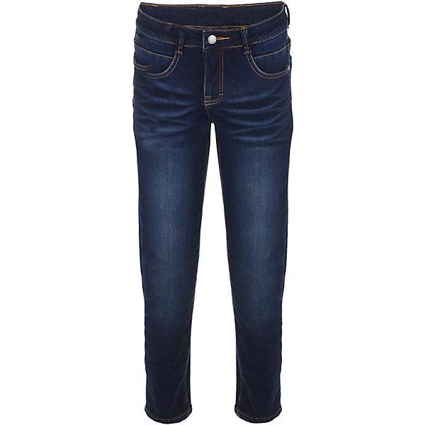 Джинсы Gulliver для мальчикаДжинсовая одежда<br>Характеристики товара:<br><br>• цвет: синий;<br>• состав: 99% хлопок 1% эластан;<br>• сезон: демисезон;<br>• особенности: с потертостями;<br>• застежка: ширинка на молнии и пуговица;<br>• классическая 5-ти карманная модель;<br>• коллекция: Сахалин;<br>• страна бренда: Россия;<br>• страна изготовитель: Китай.<br><br>Джинсы - изделие из разряда must have! Варка, потертости, повреждения - джинсы для мальчика из коллекции Сахалин сделают образ ребенка динамичным и современным! Синие джинсы, ставшие классикой повседневного стиля, гарантируют прекрасный внешний вид и свободу движений.<br><br>Джинсы Gulliver (Гулливер) можно купить в нашем интернет-магазине.<br>Ширина мм: 215; Глубина мм: 88; Высота мм: 191; Вес г: 336; Цвет: синий; Возраст от месяцев: 96; Возраст до месяцев: 108; Пол: Мужской; Возраст: Детский; Размер: 134,128,122,140; SKU: 7076994;
