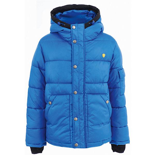 Куртка Gulliver для мальчикаВерхняя одежда<br>Характеристики товара:<br><br>• цвет: синий;<br>• состав: 100% полиэстер;<br>• подкладка: 100% полиэстер;<br>• утеплитель: 100% полиэстер, пух;<br>• сезон: демисезон;<br>• температурный режим: от +10 до -20С;<br>• особенности: с капюшоном, пуховик;<br>• застежка: молния с защитой подбородка;<br>• дополнительная планка на кнопках;<br>• шнурок-утяжка с кулиской по краю капюшона;<br>• планка с ветрозащитными очками на капюшоне;<br>• гладкая подкладка из полиэстера;<br>• внутренние манжеты с прорезью для большого пальца;<br>• капюшон не отстегивается;<br>• карман с клапаном на рукаве;<br>• два кармана;<br>• коллекция: Арбитр;<br>• страна бренда: Россия;<br>• страна изготовитель: Китай.<br><br>Куртка с капюшоном для мальчика. Стильный дизайн: контрастная отделка, крупный принт, модная фишка - ветрозащитные очки на капюшоне, не позволят пройти мимо, не обратив на себя внимания! Удобная форма, комфортная длина, удачная конструкция модели, не препятствующая свободе движений, а также все необходимые элементы для защиты от ветра сделают куртку незаменимым атрибутом зимнего сезона.<br><br>Куртку Gulliver (Гулливер) можно купить в нашем интернет-магазине.<br>Ширина мм: 356; Глубина мм: 10; Высота мм: 245; Вес г: 519; Цвет: синий; Возраст от месяцев: 72; Возраст до месяцев: 84; Пол: Мужской; Возраст: Детский; Размер: 122,140,134,128; SKU: 7077078;