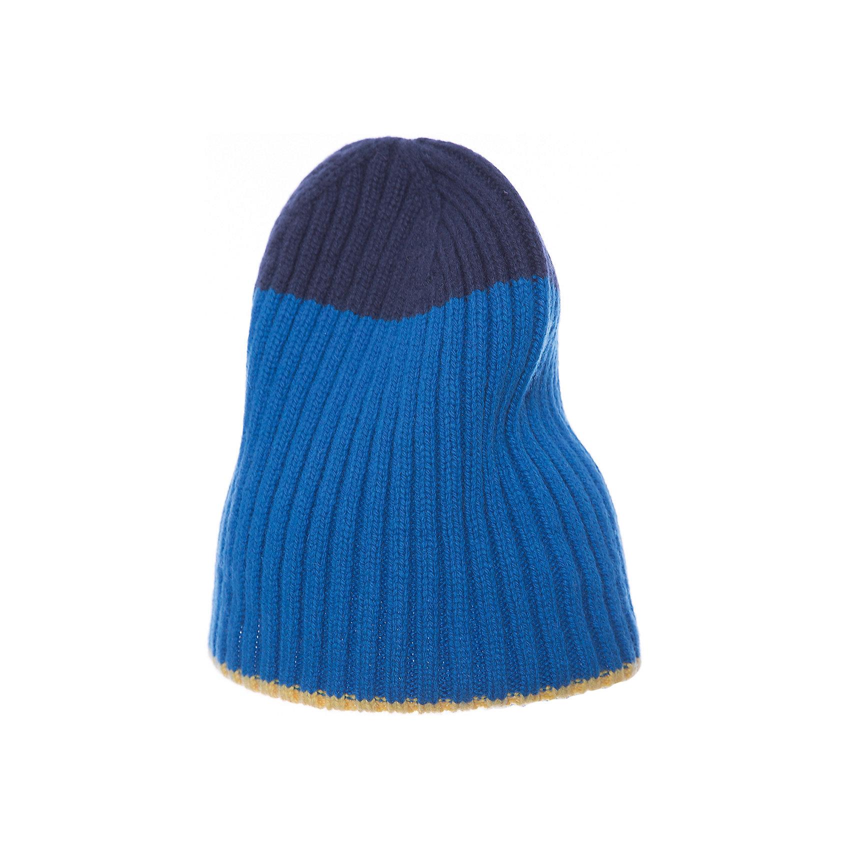 Шапка Gulliver для мальчикаГоловные уборы<br>Шапка Gulliver для мальчика<br>Синяя шапка из флиса - гарантия тепла и отличного настроения! Мягкая, уютная, комфортная, эта шапка - образец того, какими должны быть детские шапки для прохладной погоды. Изюминка модели в крупном интересном декоре, придающем шапке индивидуальные черты.<br>Состав:<br>100% полиэстер<br><br>Ширина мм: 89<br>Глубина мм: 117<br>Высота мм: 44<br>Вес г: 155<br>Цвет: белый<br>Возраст от месяцев: 72<br>Возраст до месяцев: 84<br>Пол: Мужской<br>Возраст: Детский<br>Размер: 54,52<br>SKU: 7077109