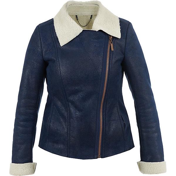 Куртка Gulliver для девочкиДемисезонные куртки<br>Характеристики товара:<br><br>• цвет: синий;<br>• состав: 100% полиэстер;<br>• подкладка: 100% полиэстер;<br>• без дополнительного утепления;<br>• сезон: демисезон;<br>• температурный режим: от +10 до 0С;<br>• особенности: косуха;<br>• застежка: косая молния;<br>• рукава с меховым отворотом;<br>• меховой воротник контрастного цвета;<br>• два боковых кармана;<br>• коллекция: Купрум;<br>• страна бренда: Россия;<br>• страна изготовитель: Китай.<br><br>Эта куртка-косуха - мечта каждой модницы! Сделанная из искусственной дубленой кожи, куртка выглядит потрясающе! Синий цвет, асимметричная застежка, белый меховой воротник, крупная металлическая молния, - в этой модели все совпало для создания дерзкого, элегантного и динамичного образа.<br><br>Куртку Gulliver (Гулливер) можно купить в нашем интернет-магазине.<br>Ширина мм: 356; Глубина мм: 10; Высота мм: 245; Вес г: 519; Цвет: синий; Возраст от месяцев: 120; Возраст до месяцев: 132; Пол: Женский; Возраст: Детский; Размер: 146,164,158,152; SKU: 7077166;
